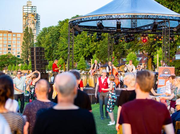 Culturele opening Spoorpark
